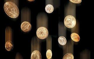 Бесплатные фото монеты,копейки,чеканка,полет