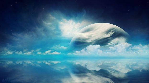 Бесплатные фото облака,планета,неизвестные миры
