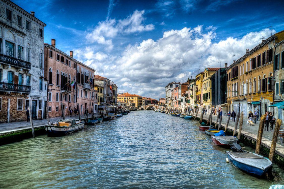 Фото бесплатно Венеция, Италия, Гранд канал - на рабочий стол