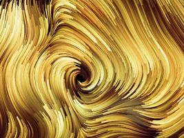 Золотистый фон красками