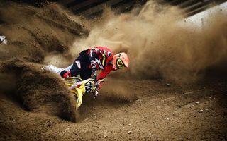 Бесплатные фото мотокросс,гонка,мотоциклист,шлем,защита,скорость,земля