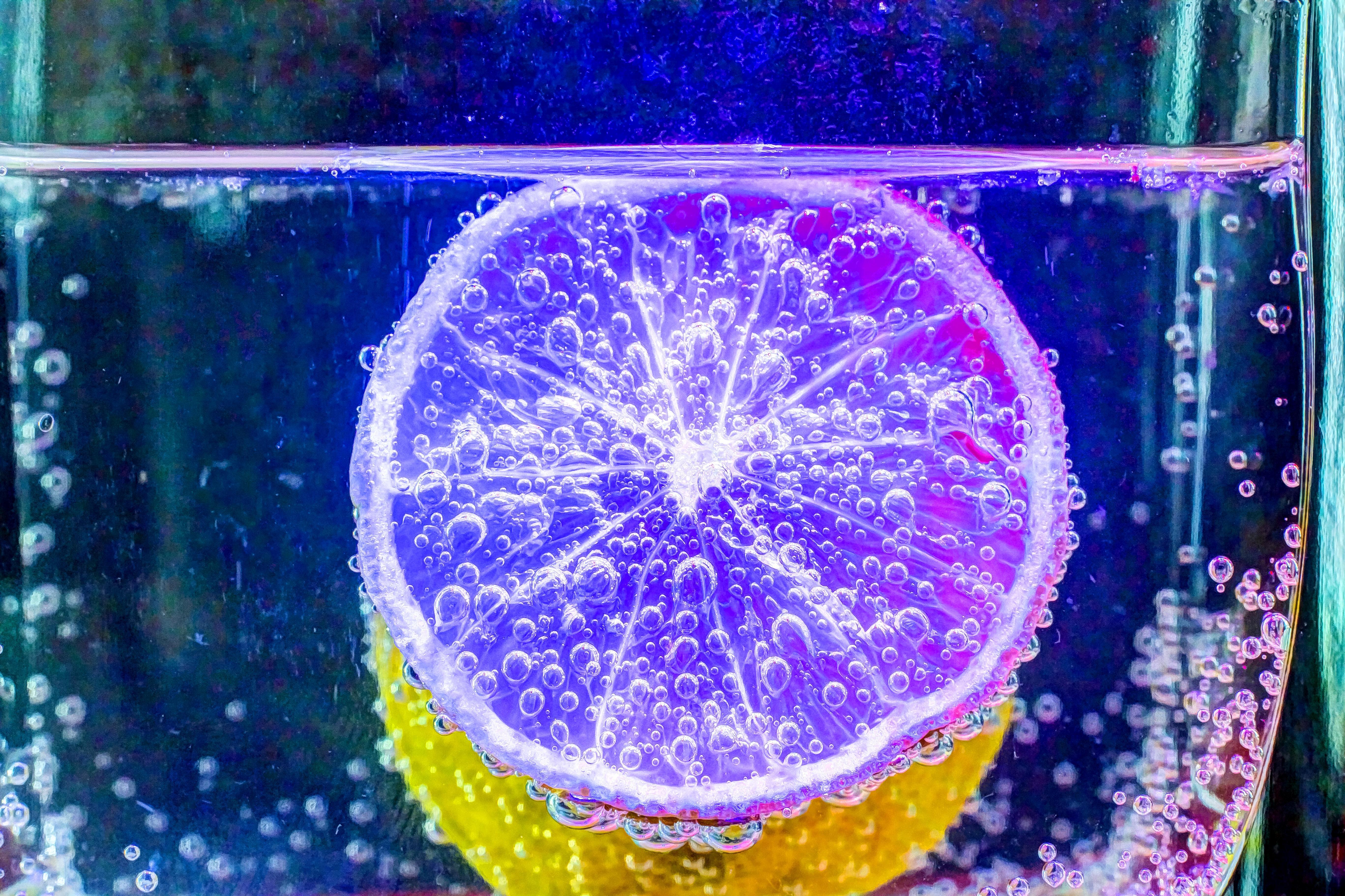 Обои напиток, жидкость, вода, лимон