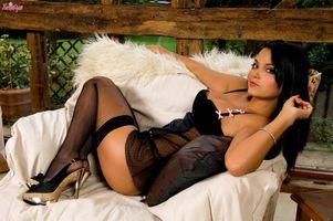 Фото бесплатно сексуальная девушка, позы, саша поцелуй