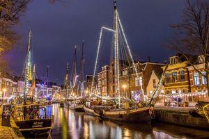 Фото бесплатно огни, нидерланды, Гронинген
