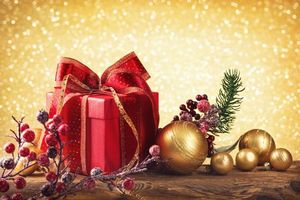 Photo free christmas background, gifts, christmas clipart