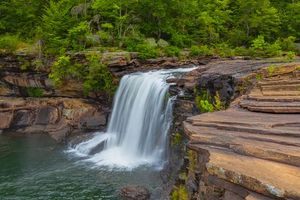 Бесплатные фото Little River Canyon National Preserve,Fort Payne,Alabama,река,скалы,водопад,лес