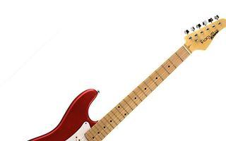 Бесплатные фото электрогитара, гриф, струны, лады, колки, фон белый