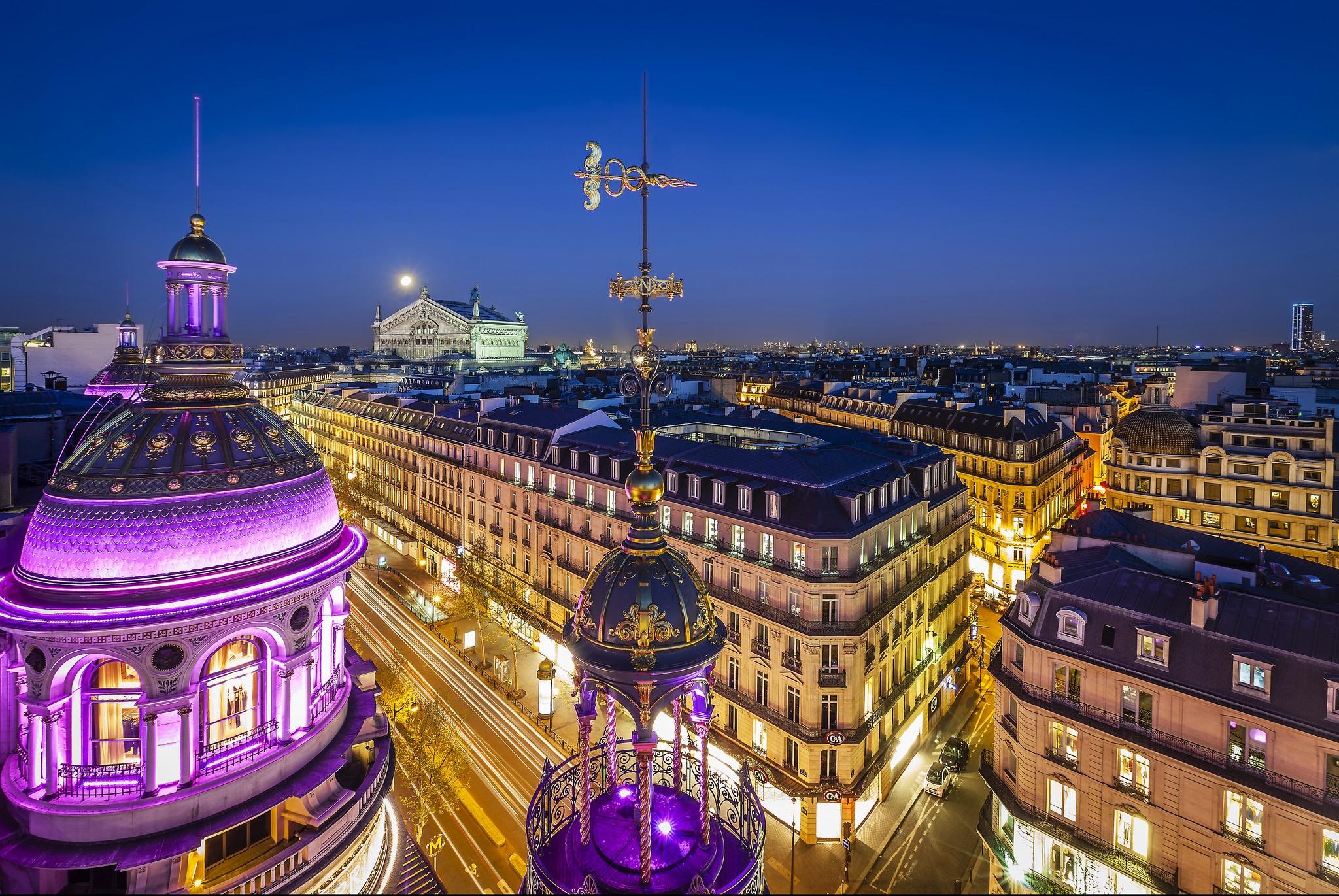страны архитектура гранд опера париж франция  № 3971708  скачать