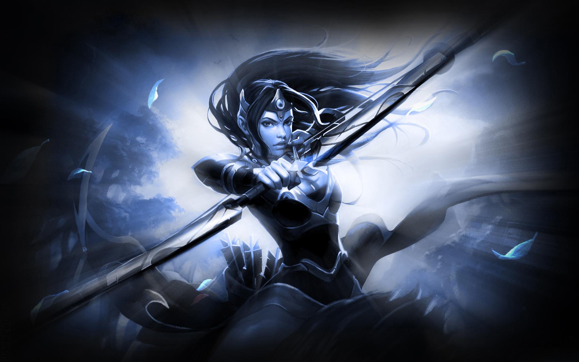 онлайн игра, Dota2, героиня