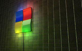 Фото бесплатно стена, плитка, светильник
