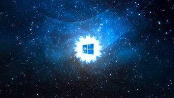 Фото бесплатно значок виндовс, логотип, небо
