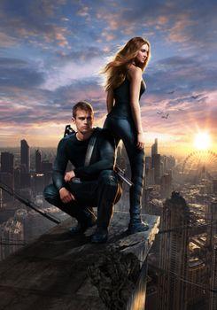 Photo free Divergent, fantasy, detective