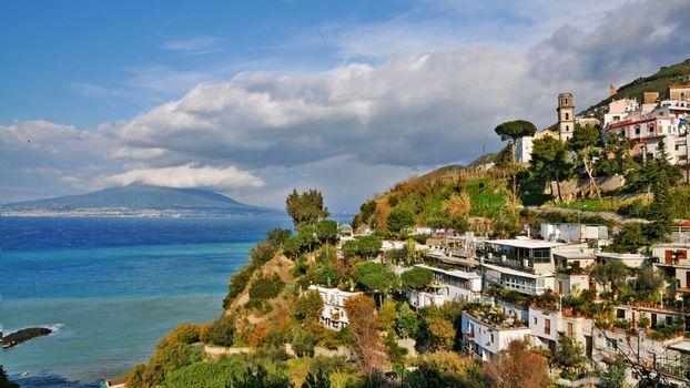 Бесплатные фото море,скалы,дома,курорт