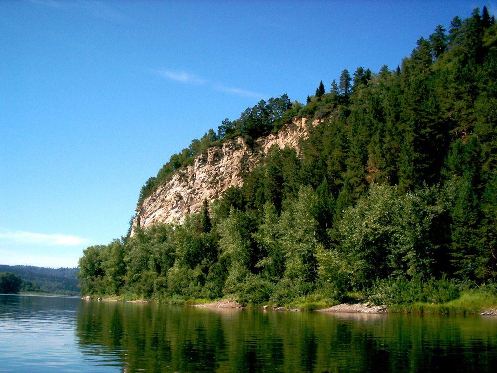Обои Томь, река, Сибирь картинки на телефон