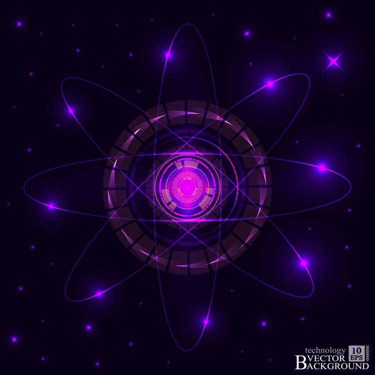 Сфера и ядро · бесплатное фото