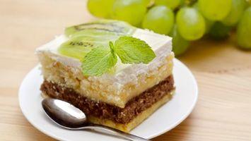 Фото бесплатно десерт, пирожное, слои
