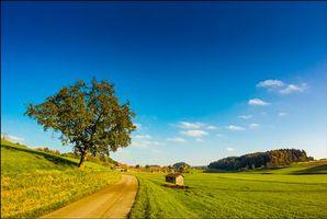 Фото бесплатно Германия, Швабия, поле