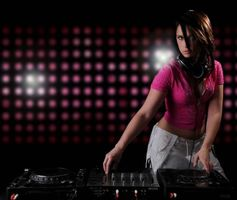 Photo free girl DJ, girl, headphones