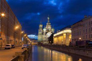 Фото бесплатно храм спаса на крови, санкт петербург, россия