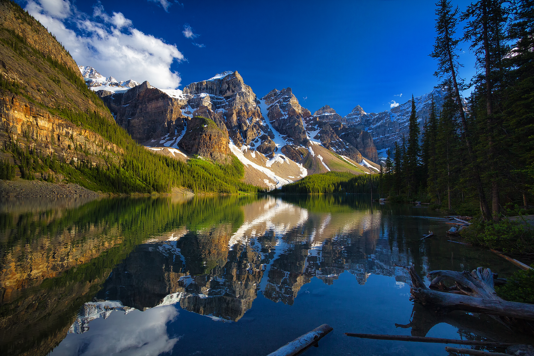 Moraine Lake, Banff National Park, озеро