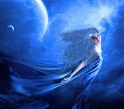 Photo free girl, beauty, fairy