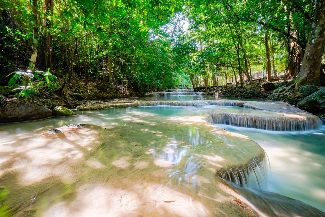 Фото бесплатно Эраван, Таиланд, Национальный парк Канчанабури - на рабочий стол