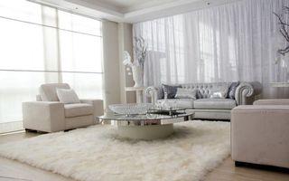 Бесплатные фото гостиная, мебель, диван, кресла, столик, вазы, окна