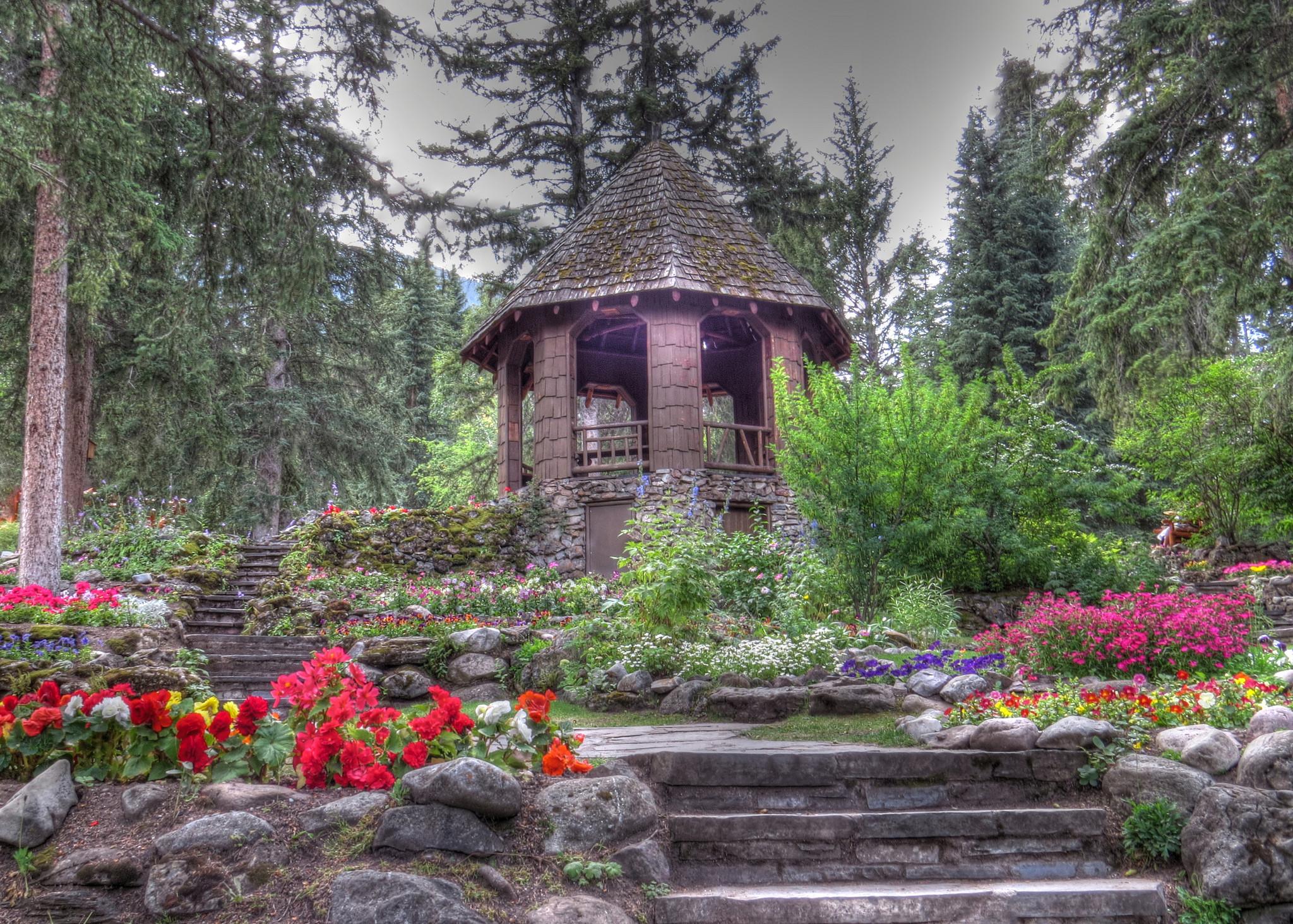 обои Каскад Сад, Канада картинки фото