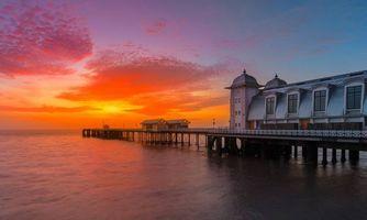 Фото бесплатно Penarth Pier, Пенарт, Вейл-оф-Гламорган