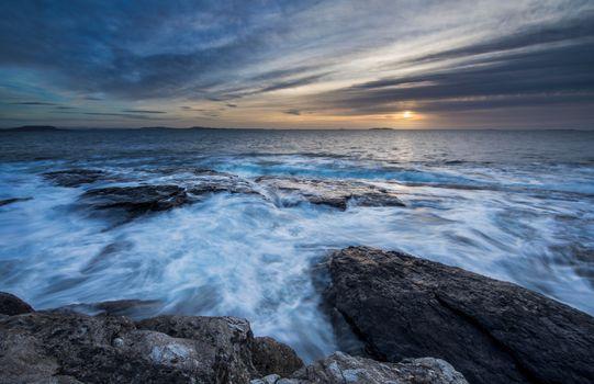 Фото бесплатно Норвегия, волны, Ругаланн
