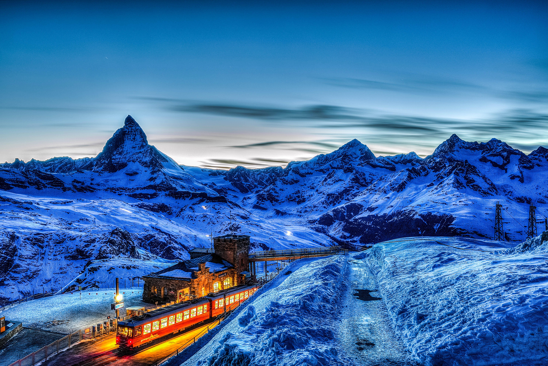 обои Швейцария, Маттерхорн, Альпы, горы картинки фото