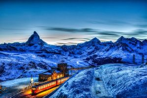 Фото бесплатно Швейцария, Маттерхорн, Альпы
