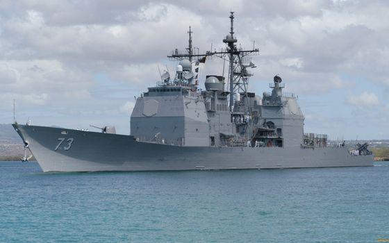 Фото бесплатно корабль, эсминец, палуба