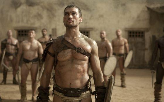 Фото бесплатно гладиаторы, бойцы, щиты