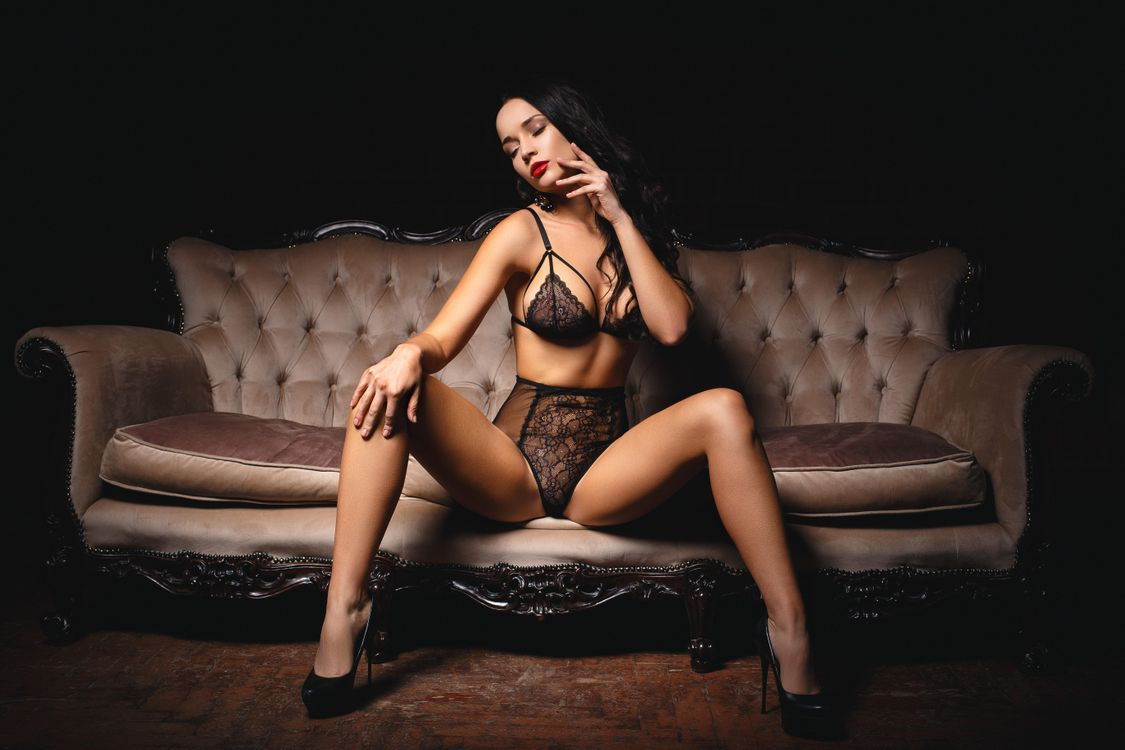 Фото бесплатно девушка, модель, красотка, SEXY GIRL, сексуальная девушка, красивая девушка, Angelina Petrova, нижнее бельё, девушки