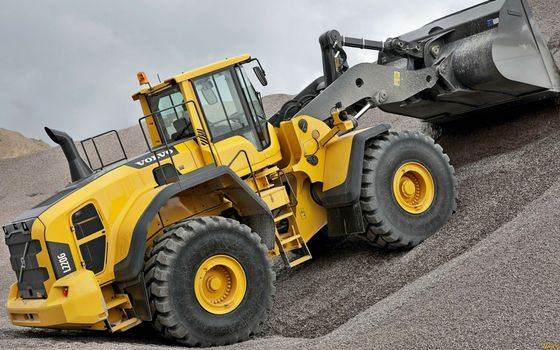 Photo free Volvo, loader, special machinery