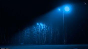 Фото бесплатно ART IRBIS PRODUCTION, Москва, парк, фанари, туман, снег, Khusen Rustamov, Хусен Рустамов, xusenru, Природа, Россия, Город, мрак