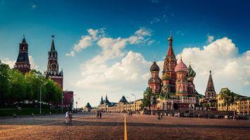 Бесплатные фото Храм,Собор,Красная Площадь,Москва,Россия