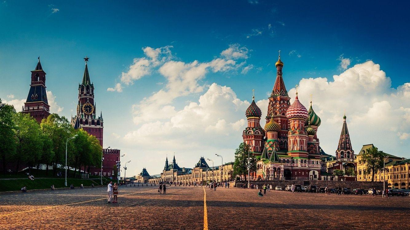 Фото бесплатно Храм Собор Красная Площадь - на рабочий стол