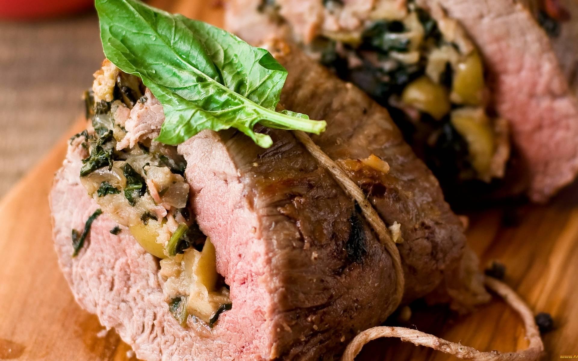 Как сделать рулет из говядины в домашних условиях