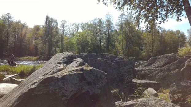Фото бесплатно Приозерск, скалы, деревья