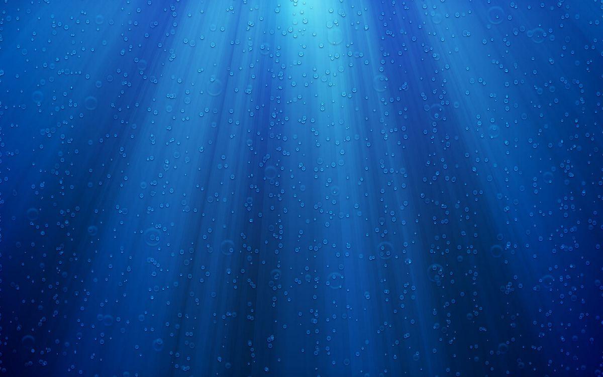 Фото бесплатно поверхность, синяя, капли, вода, лучи, свет, текстуры