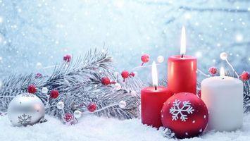 Фото бесплатно украшения, элементы, рождество