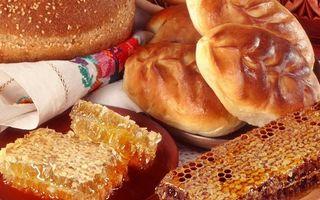 Фото бесплатно пирожки, выпечка, мед