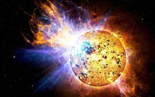 Фото бесплатно солнце, излучение, пламя