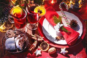 Фото бесплатно чай с лимоном, фон, новогодние обои