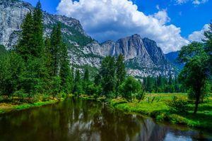 Фото бесплатно лес, Йосемитский национальный парк, США