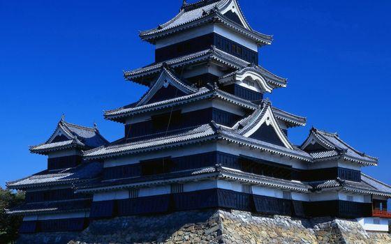 Фото бесплатно здание, крыша, дизайн, камни, китайский стиль