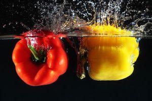 Бесплатные фото перец,овощи,перцы,вода,жидкость,брызги