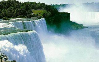 Бесплатные фото река,течение,обрыв,водопады,брызги,берега,растительность